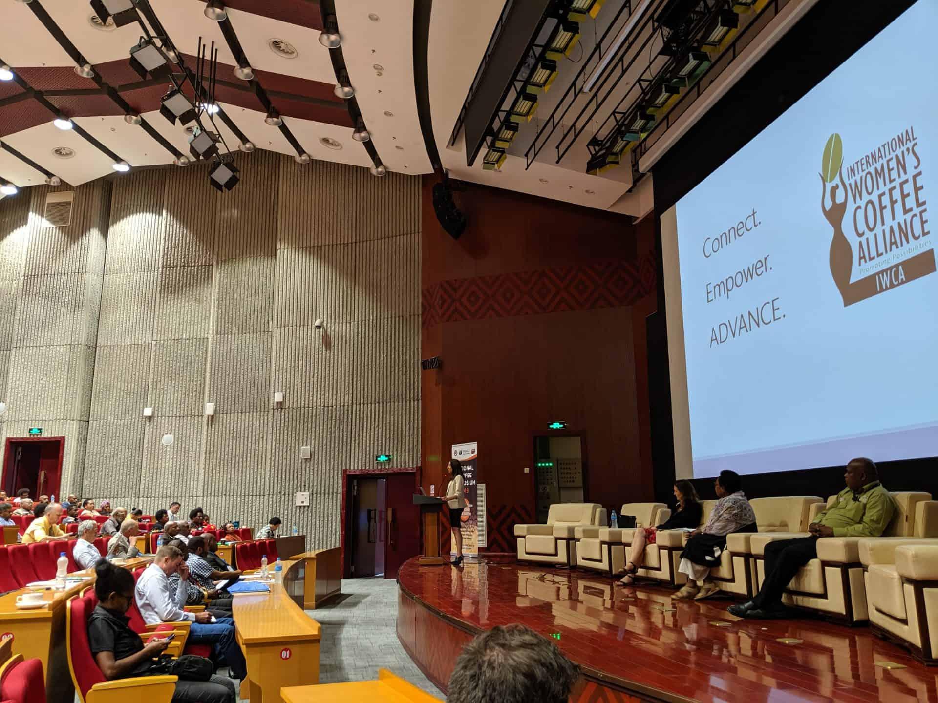 Gina DiBrita at PNG National Coffee Symposium